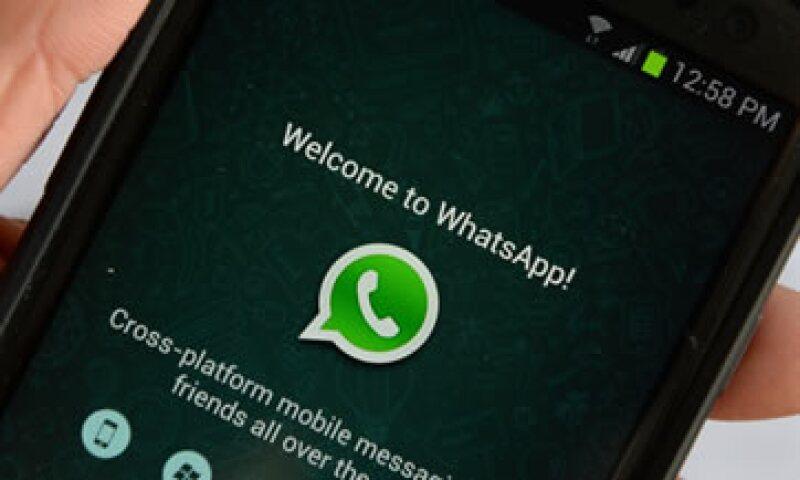 El 84% de los usuarios de smartphones en México usa WhatsApp.(Foto: Reuters )