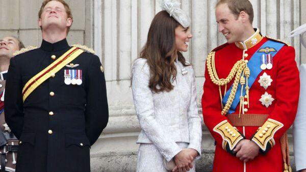 Harry, Kate, William