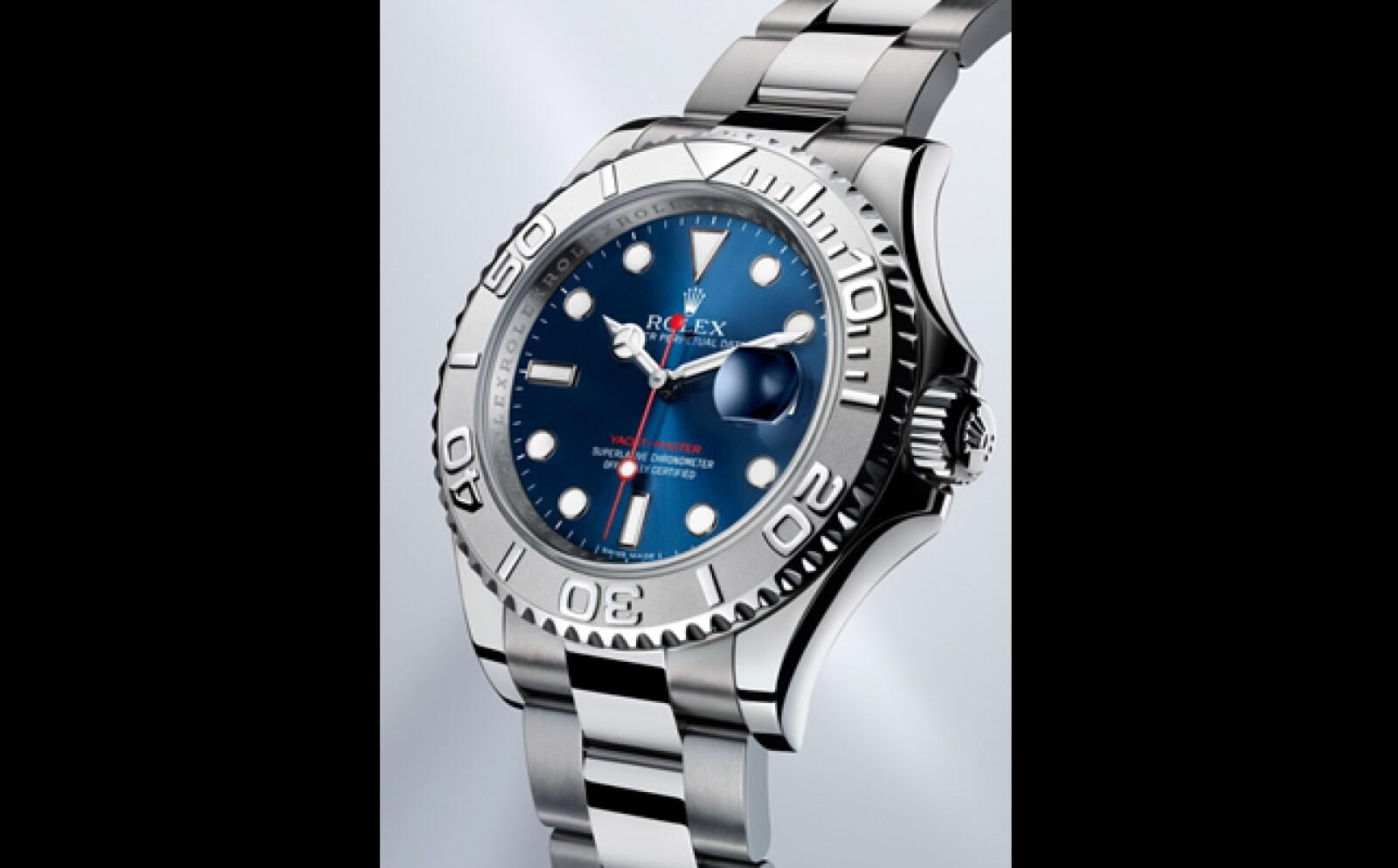 Destaca el material especialmente diseñado por Rolex que es una combinación de acero inoxidable y platino al que han bautizado con el nombre de Rolesium. Esta pieza esta diseñada para los fanáticos de la navegación ya que puede medir intervalos de 60 minu