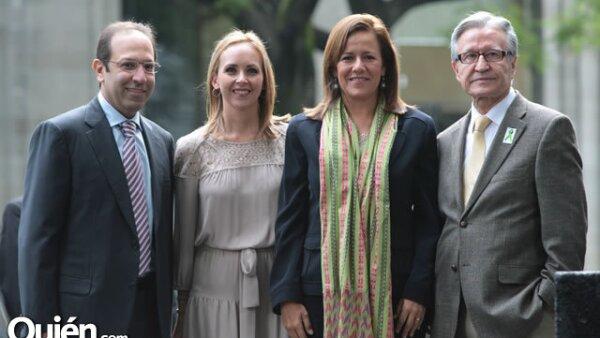 Marco Antonio Slim,Adriana Castro,Margarita Zavala,Romeo Ruiz