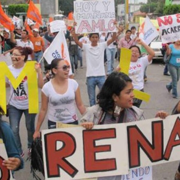 Marcha AMLO Chiapas