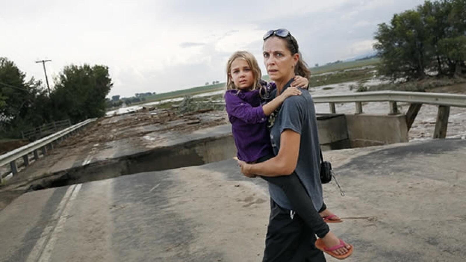 Colorado padece inundaciones por lluvias