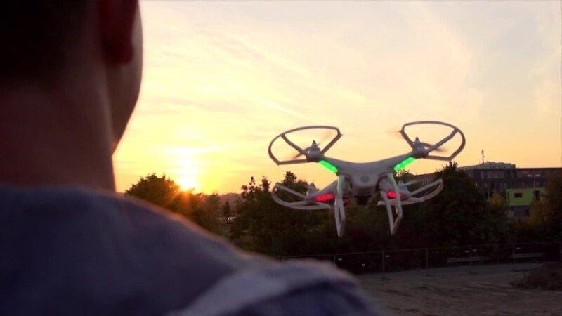 La firma china DJI tiene 70% del mercado de drones a nivel mundial