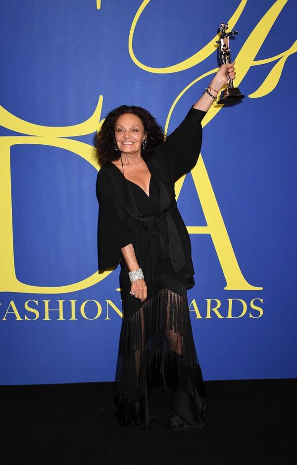 CFDA Fashion Awards, Press Room, New York, USA - 04 Jun 2018