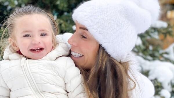 Inés Gómez Mont y su hija María