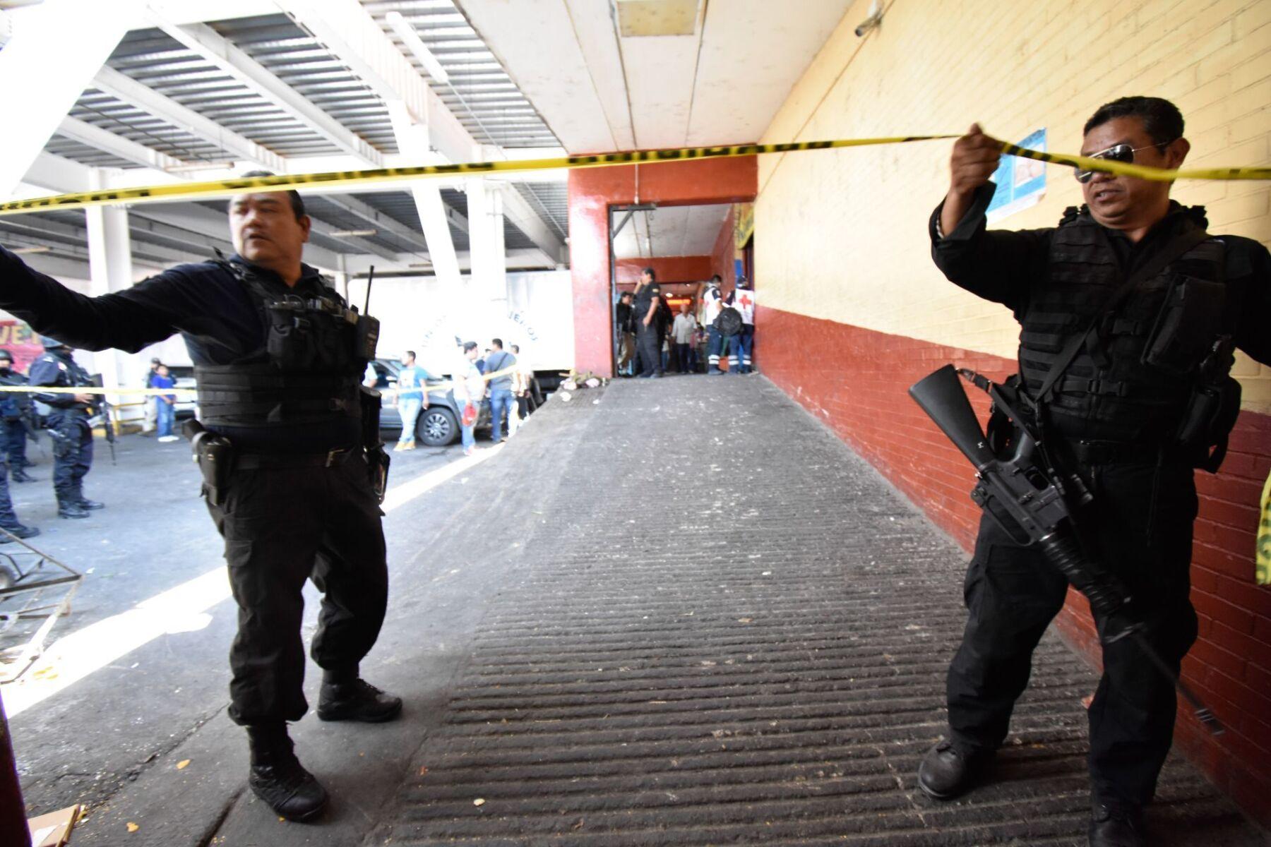 Un hombre fue asesinado en el mercado Baltazar R. Leyva