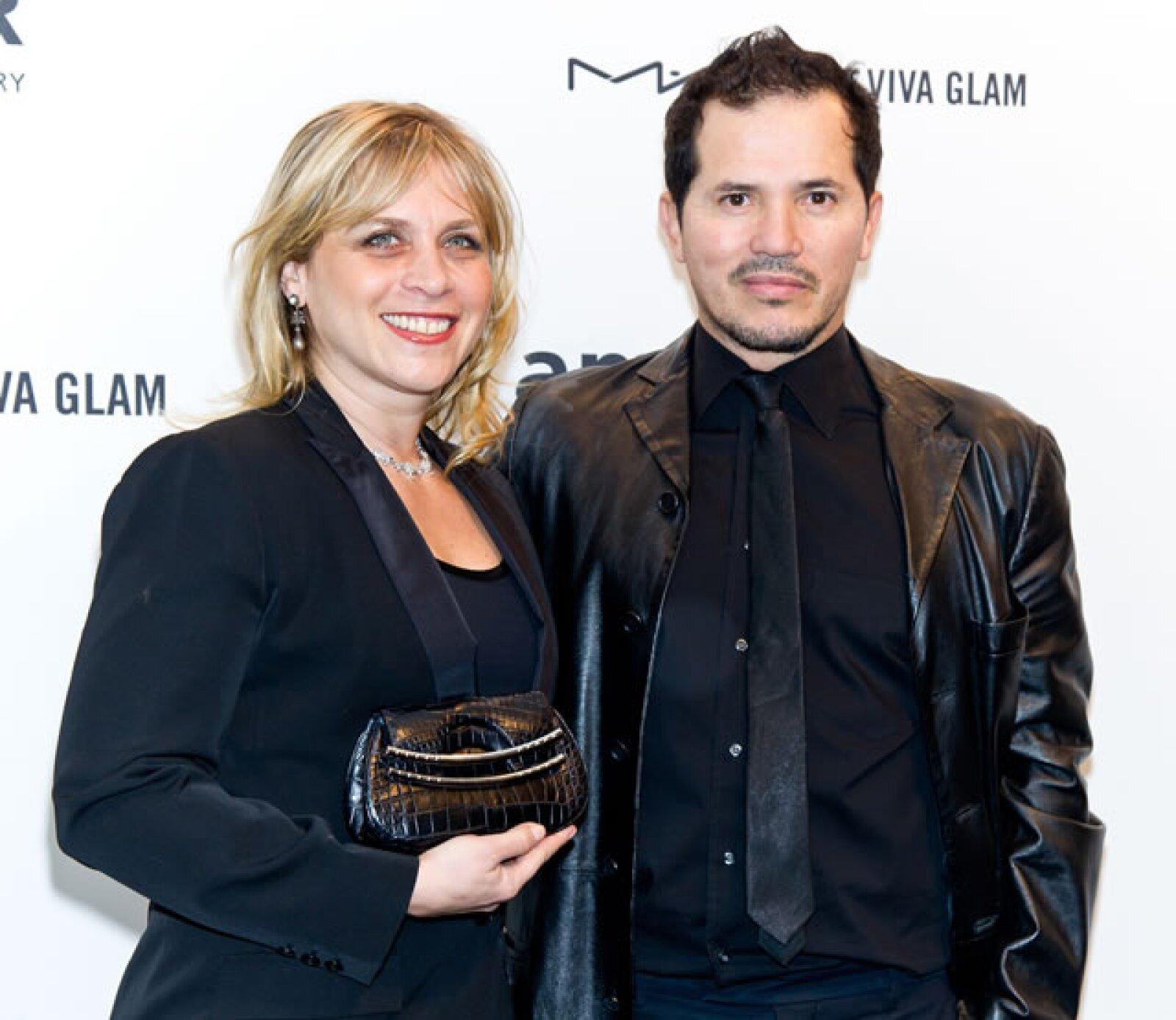 Justine Maurer y John Leguizamo