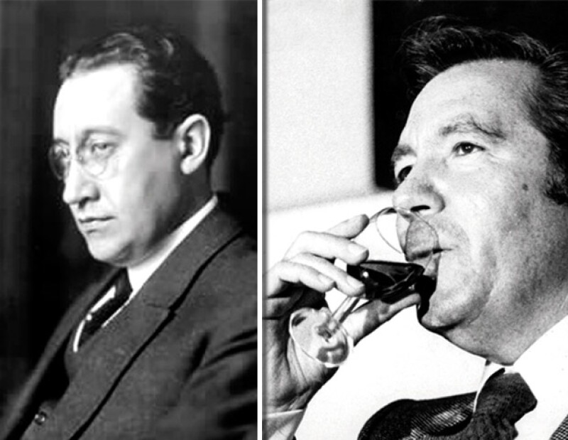 Isidro Fabela (izq.) es considerado el fundador del grupo Atlacomulco, y tal vez quién encumbró al grupo fue el intocable Carlos Hank González (der.)