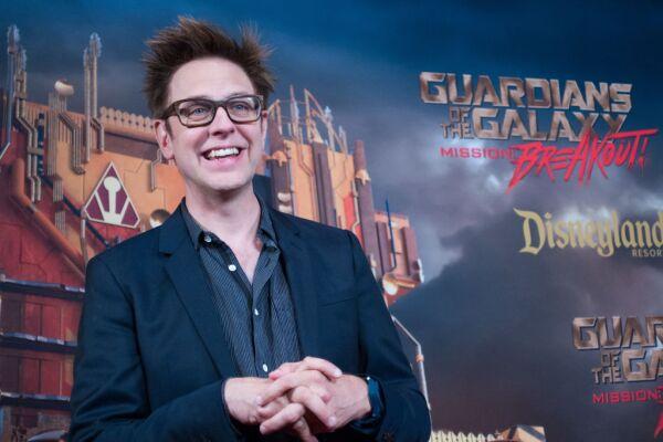James Gunn director de Guardians of the Galaxy