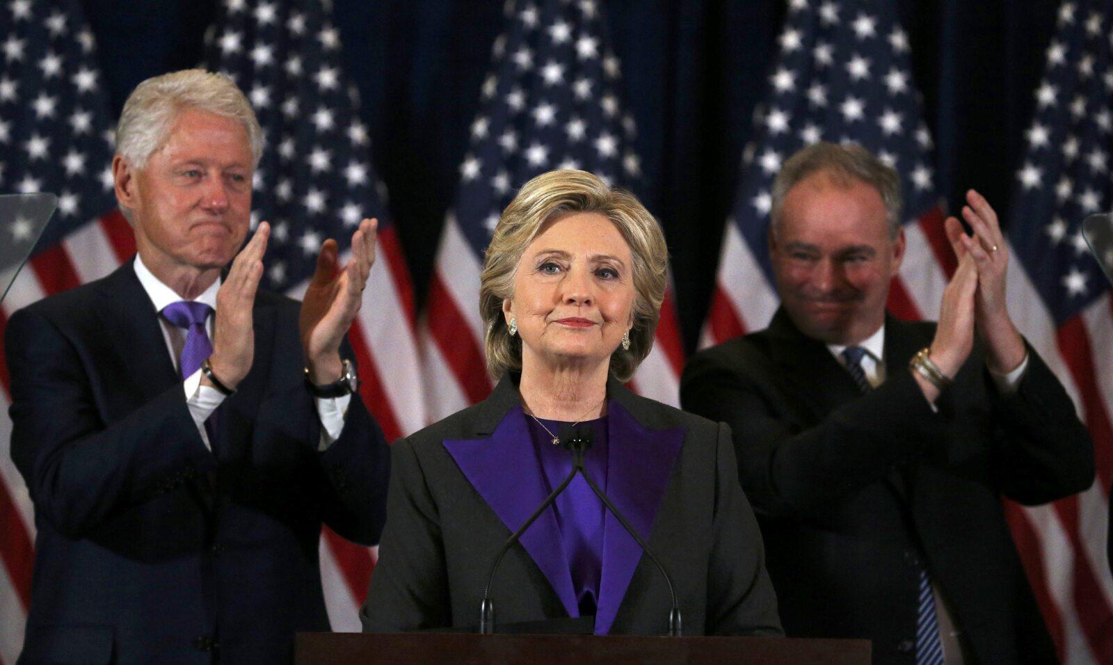 El Discurso de Concesión de Hillary Clinton