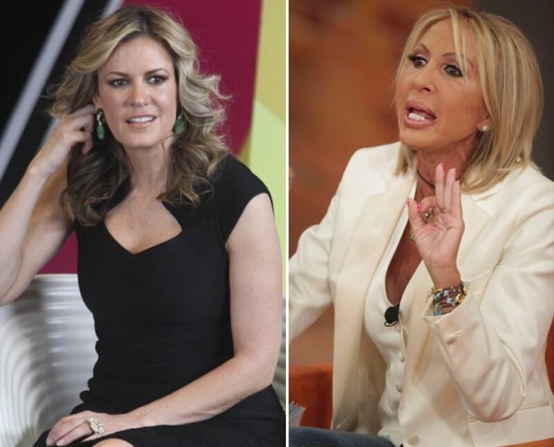 Rebecca de Alba hizo fuertes críticas ante el caso Aristegui-Bozzo, diciendo que la actitud de Bozzo era `patética´.