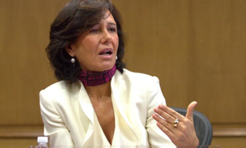 Las Pymes son uno de los sectores de mayor importancia para el banco, dijo Botín. (Foto: Notimex )