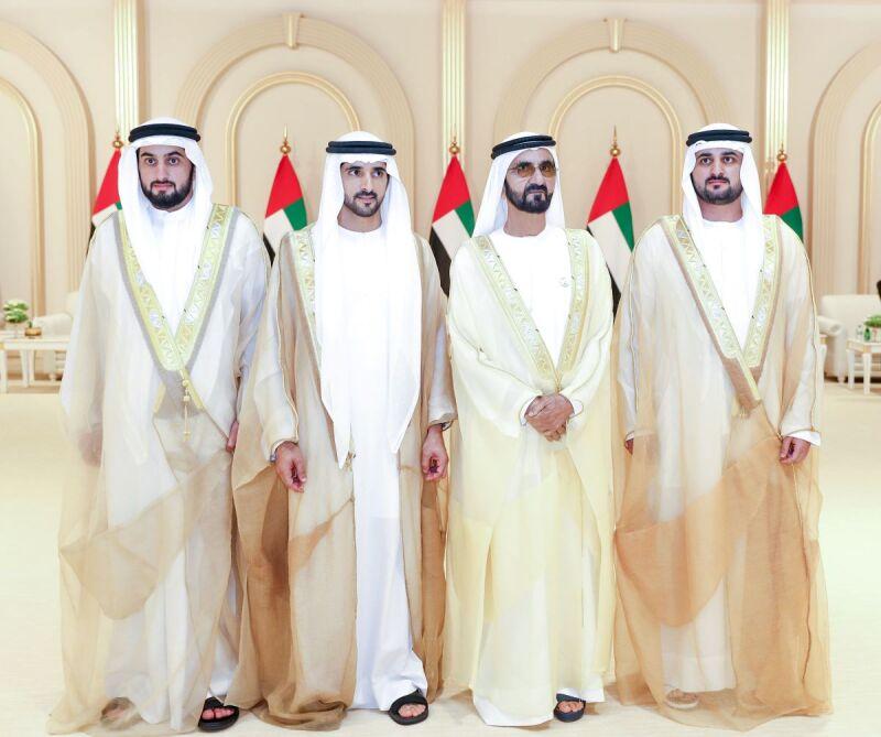 La familia real de Dubái