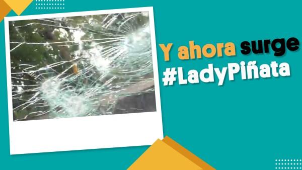 #EnSegundos ⏩  Y ahora surge #LadyPiñata en redes