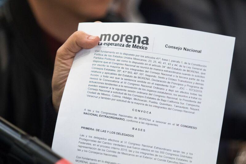 Convocatoria Morena
