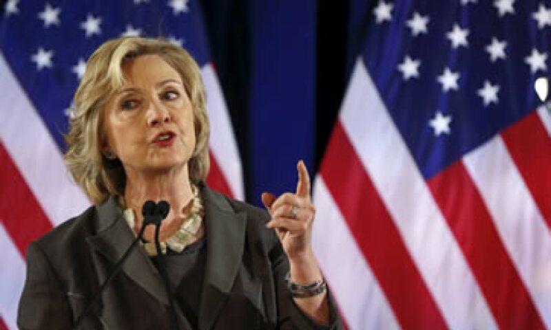 Hillary Clinton llamó a mayor transparencia en la recompra de acciones. (Foto: Reuters )