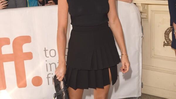 Jennifer Aniston es conocida por vestirse siempre cómoda y el Festival de Cine de Toronto de hace unas semanas no fue la excepción.