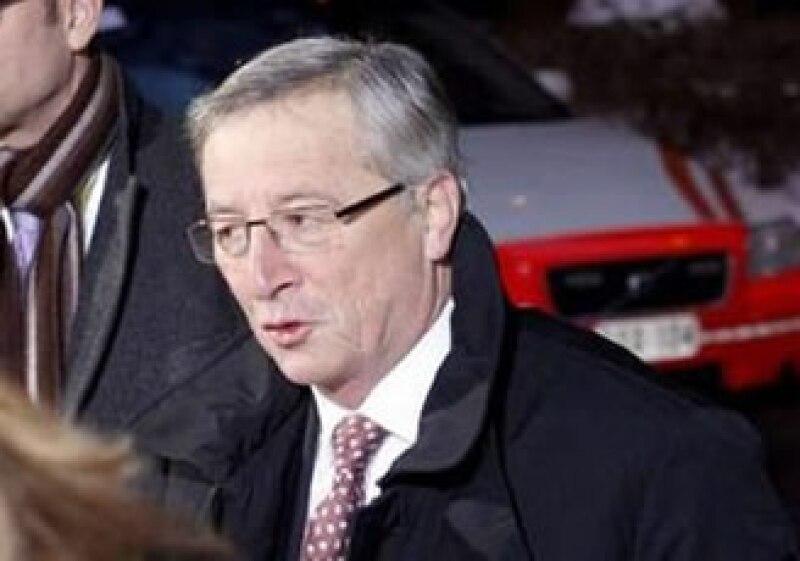 El presidente del Eurogrupo, Jean Claude-Juncker, dijo que Grecia debe recortar su déficit en cuatro puntos porcentuales este año. (Foto: Reuters)