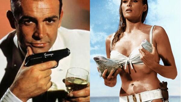Conocida como Honey Rider, Ursula Andress ha sido una de las chicas Bond más populares gracias a su participación con Sean Connery en `Dr. No´ (1962).