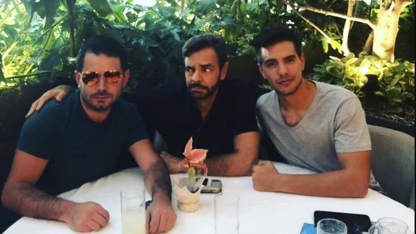 José Eduardo, Eugenio y Vadhir Derbez