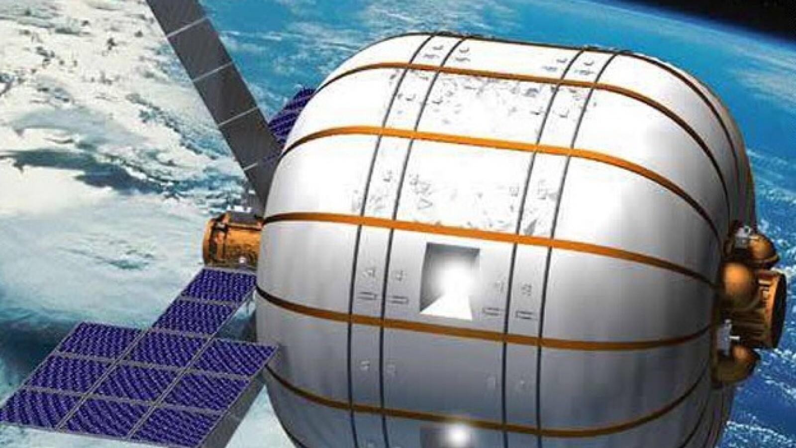 El hábitat espacial podrá albergar tres a seis personas