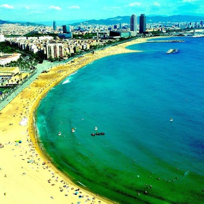 Esta foto de Barcelona la subió a principios de septiembre.