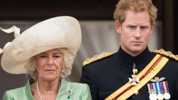 El príncipe Harry y la duquesa de Conrnualles, Camila