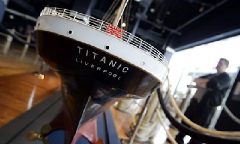 El Titanic chocó en abril de 1912 con un témpano de hielo en el Atlántico Norte durante su viaje inaugural. (Foto: AP)