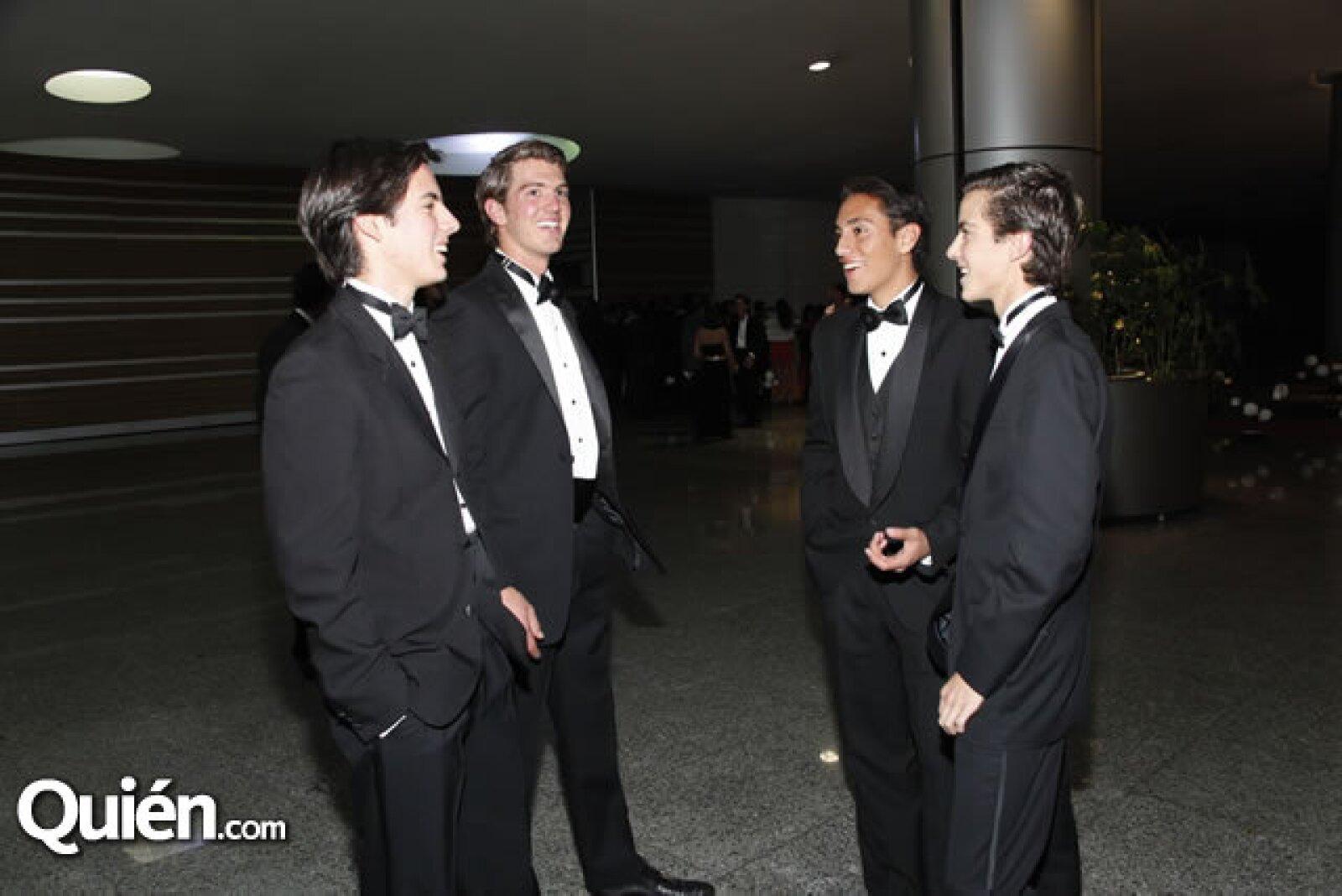 Fernando Torres,Fermín Ranfer,Gustavo Robles y Fermín Chávez