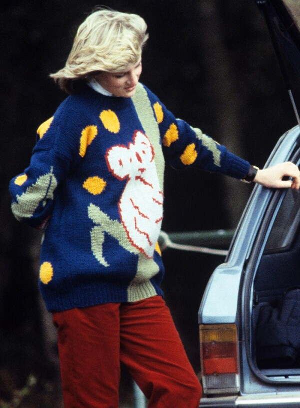 Polo match, Windsor, Britain - 1982