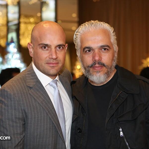 Manuel Rivera y Héctor Ezrawe