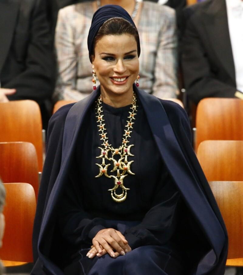 Sheikha Mozah, jequesa de Qatar.
