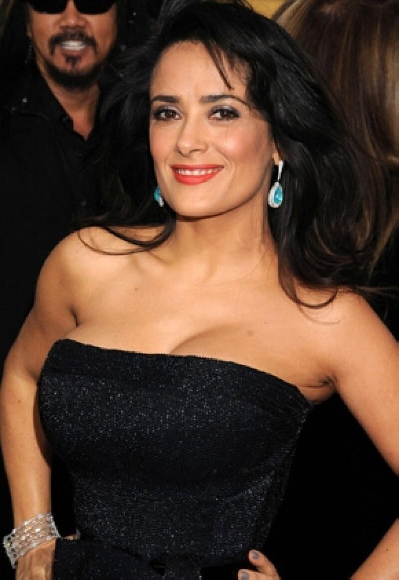 La actriz y productora mexicana formará parte de los famosos que darán a conocer las ternas durante la ceremonia de los Premios de la Academia.