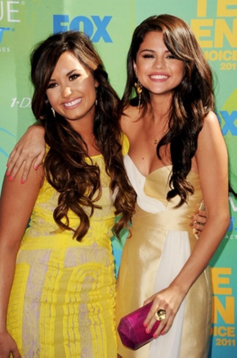 Demi ha dejado en el pasado a sus amigas Disney y continúa con su carrera artística.