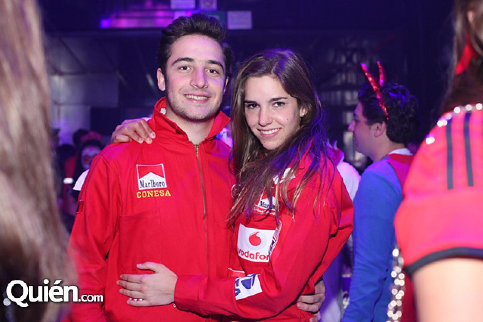 Jaime Hunt y Nicolina Lauda