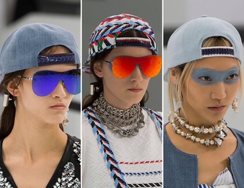 Gorras de Chanel.