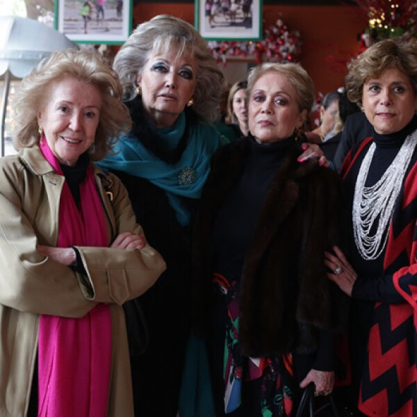 Melba de León,Alicia Aguilar,Estela Pioti y Marcia Girarda