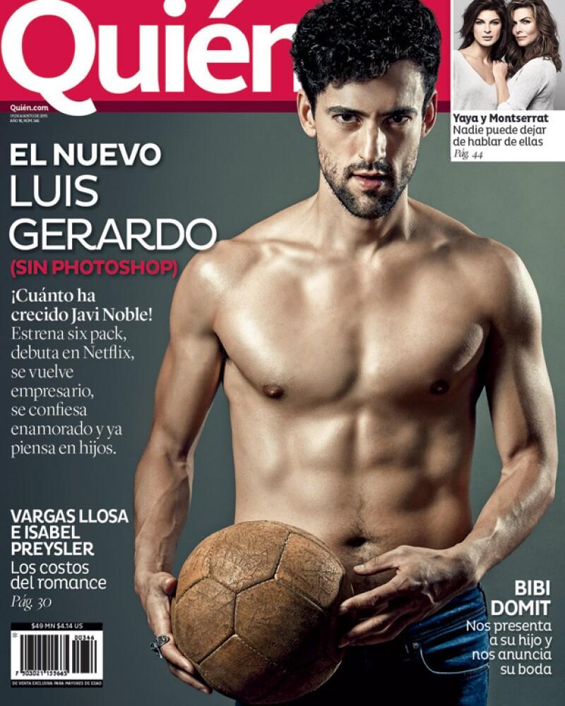 A unos días de debutar en la primera serie de Netflix en español, posa en nuestra portada como nunca lo habíamos visto y nos muestra cómo lo cambió el ejercicio. ¡Cuánto ha crecido Javi Noble!