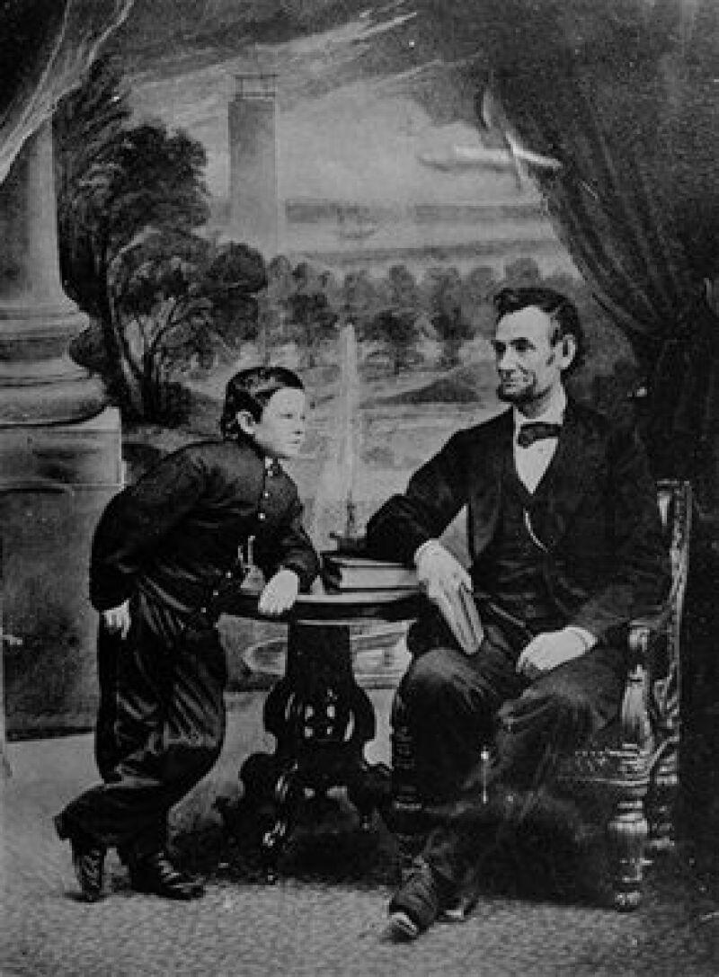 Abraham Lincoln tuvo cuatro hijos, pero sólo Tad disfrutó la residencia.