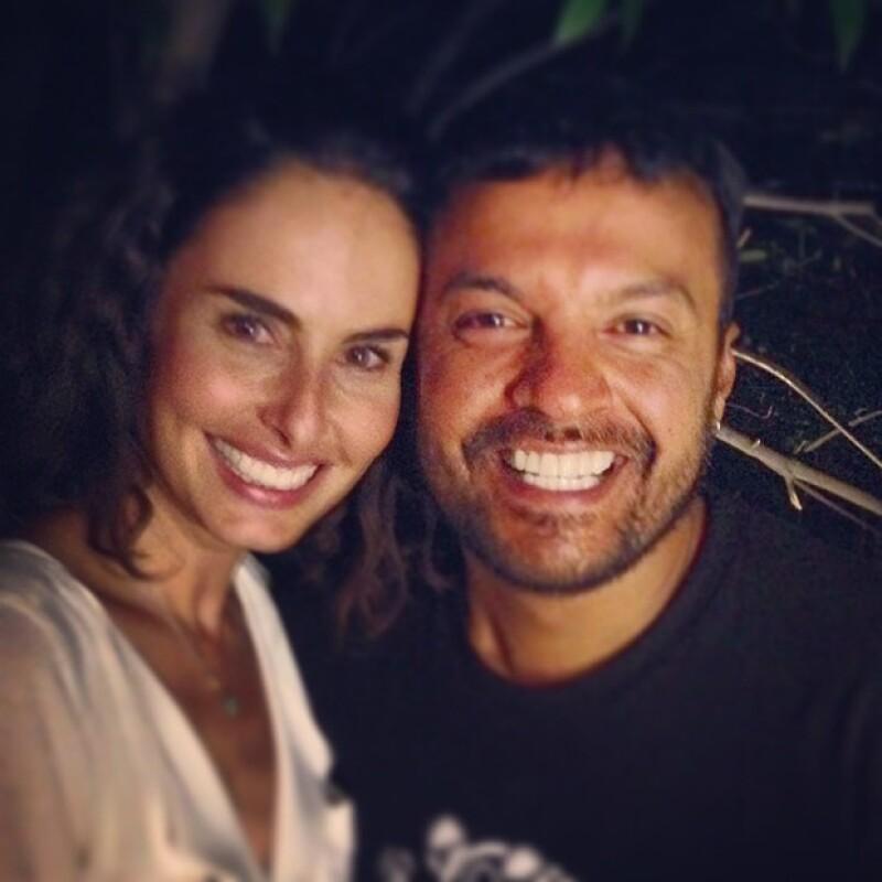 Ana Serradilla y Julián Román han compartido muchos momentos en el set de grabación.