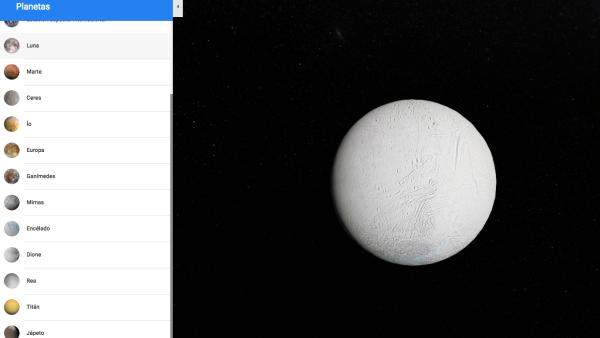 Explora las lunas de Saturno