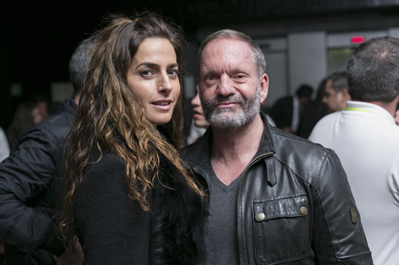 Paola Saad y Pablo del Val