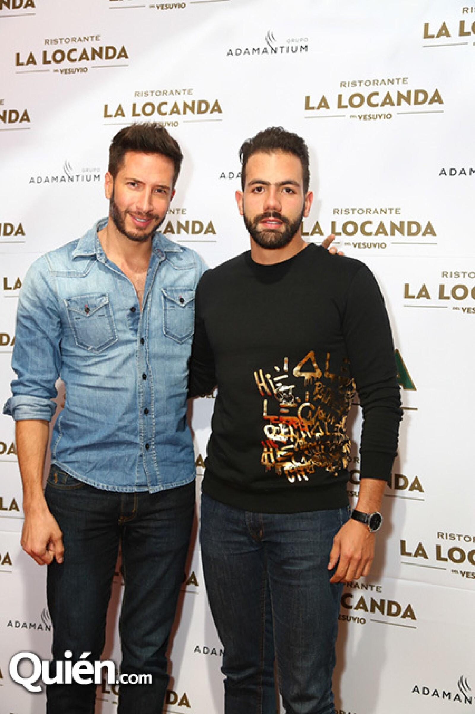 Rodrigo Cuevas y Camilo Rodríguez