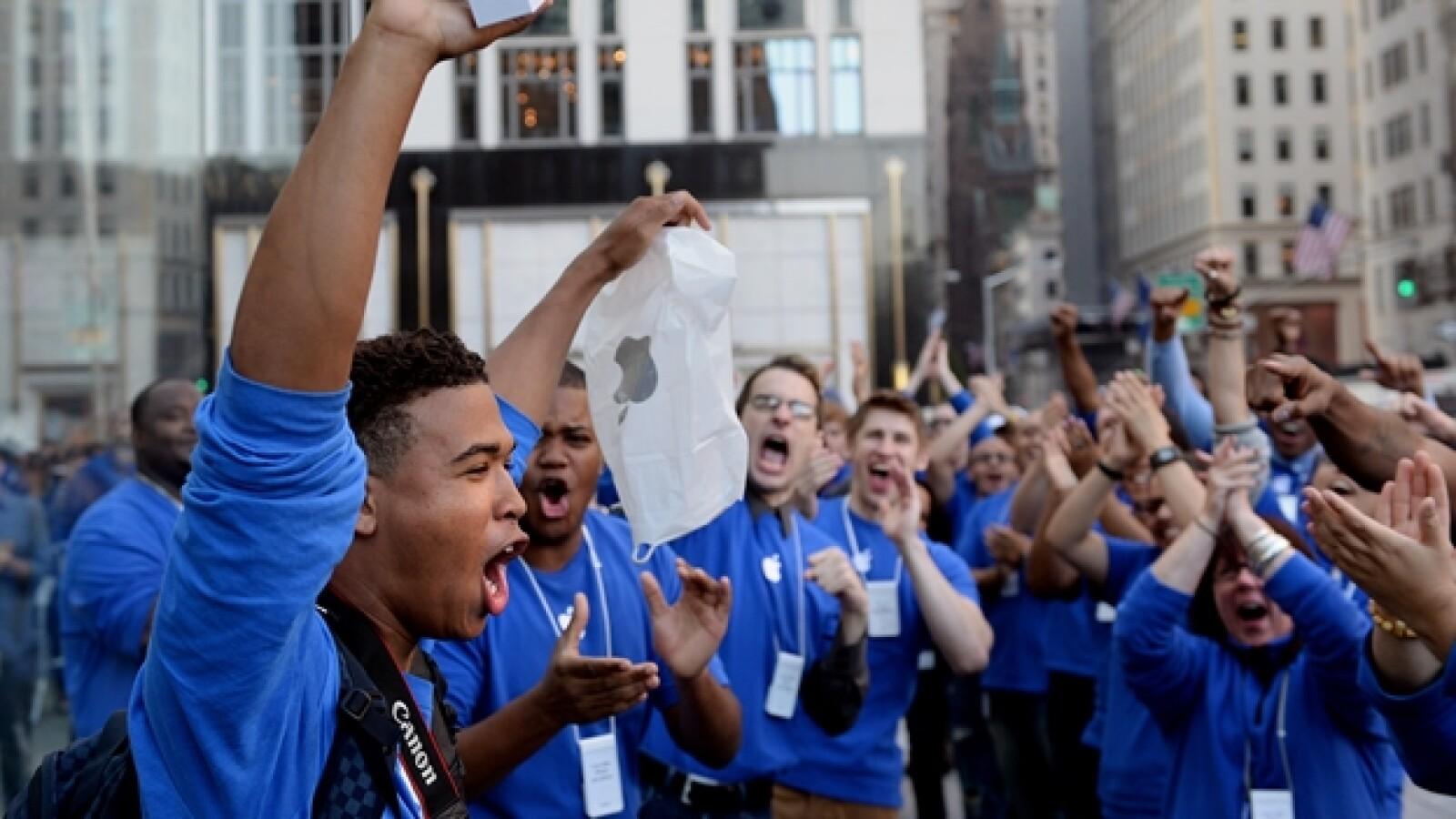 Nueva York venta del nuevo iPhone