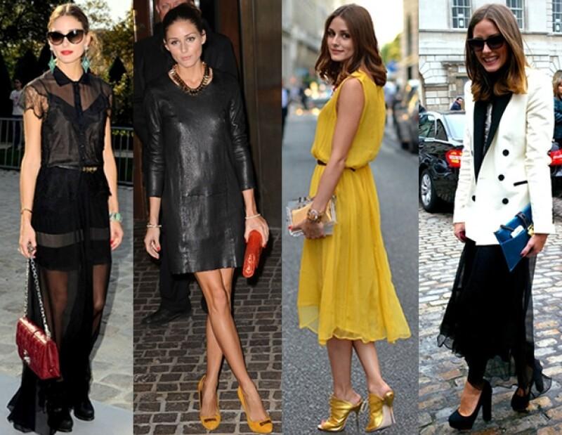 Un carácter sofisticado y chic define el estilo de vestir de la socialité neoyorquina Olivia Palermo, quien hoy cumple 25 años.