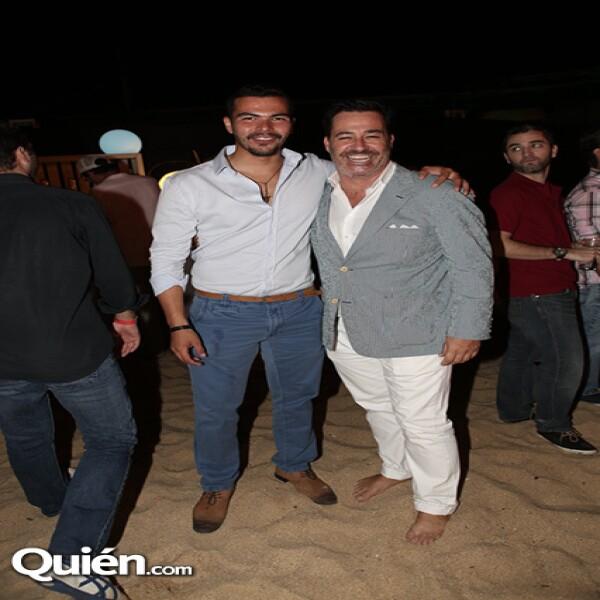 Luis Eduardo Tolorsa y Yokin Bellausteguigoytia
