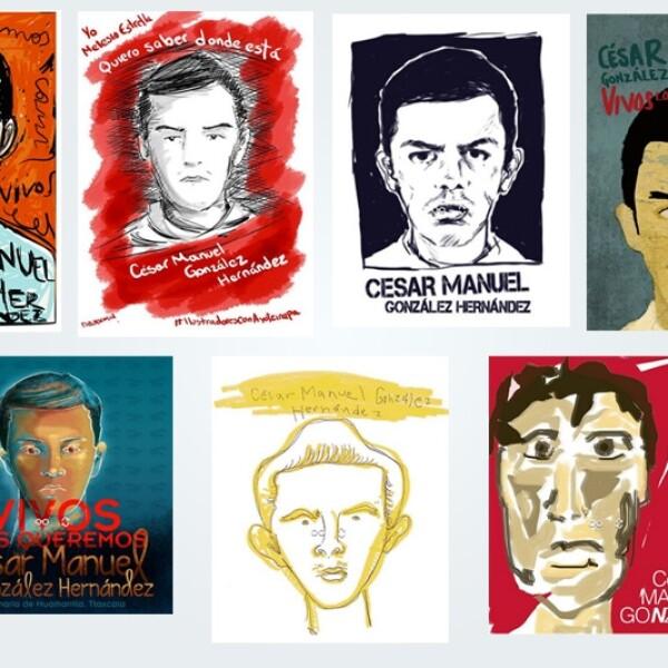 Cesar Gonzalez Ayotzinapa