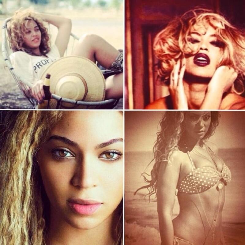 Estas son otras de las fotografías que compartió Beyoncé en Instagram.