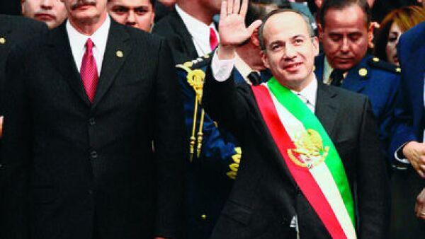 Vicente Fox Quesada, Felipe Calderón Hinojosa