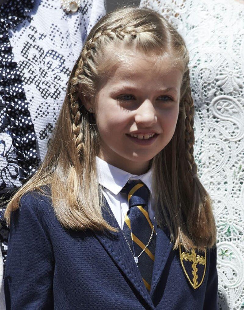 La hija de los Reyes de España, con tan sólo nueve años, ya cuenta con un sello postal con su imagen.